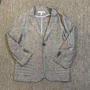 Isaac Mizrahi Linen Blend Suit Jacket Blazer